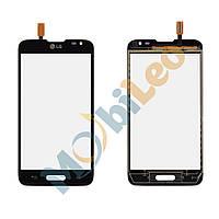 Тачскрин (сенсор, экран) LG D320 Optimus L70 черный оригинал