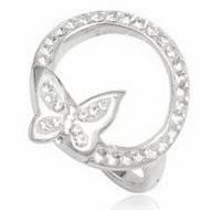 Серебряное кольцо  с кристаллами Swarovski размер 17