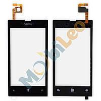 Тачскрин (сенсор, экран) Nokia 520 525 Lumia черный копия