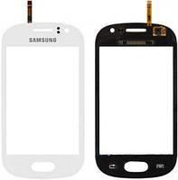 Тачскрин (сенсор, экран) Samsung S6810 Galaxy Fame белый