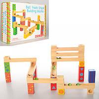 Деревянная игрушка Игра MD 1104  лабиринт, в кор-ке, 34,5-24-7см