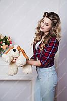 Мягкая игрушка собака Бассет 55 см