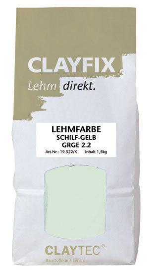 Декоративная глиняная краска- штукатурка CLAYFIX, 1,5 кг