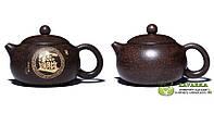 """Чайник """"Си Ши""""  из исинской глины  Цзю Ли Чжу Ша  250 мл с двумя пиалами."""