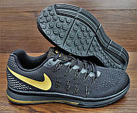Черные мужские кроссовки Nike Air Zoom Pegasus 33. Последняя пара 44-28.5см