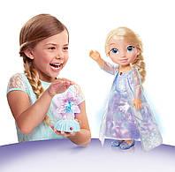 Большая интерактивная кукла Эльза Северные огни. Frozen