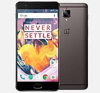 Смартфон OnePlus 3T A3010 6/128gb Gunmetal 3400 мАч Snapdragon 821