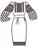 Заготовка для вышивки платья ПЖ-68