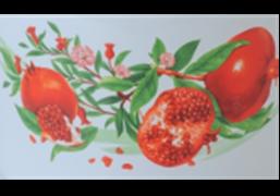 Кастрюля эмалированная цилиндрическая с нержавеющим ободком (2 л) Epos Гранат, арт. 3110/2К