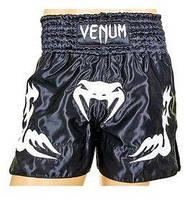 Трусы для тайского бокса Venum Inferno CO-5807-BKW черные