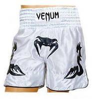 Трусы для тайского бокса Venum Inferno CO-5807-W белые