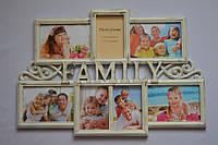 Рамка коллаж 3307 Family 7 фото