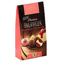 Конфеты шоколадный трюфель с клубничным чизкейком Truffles Baron 148г