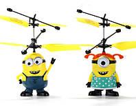 Интерактивная игрушка Minions YT-388 (вертолет), летающий миньон