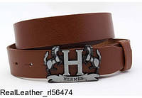 Ремень мужской HERMES 'Real Leather - rl56474'