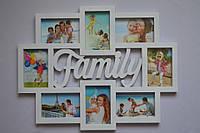 Рамка коллаж M-35 Family 8 фото
