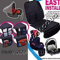 Защитная накидка с органайзером под детское автокресло East Install NY-05