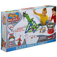 Подвижный конструктор ZOOB BuilderZ Challenge, 175 деталей, оригинал из США