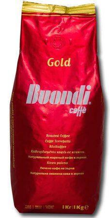 Кофе Buondi Gold в зернах 1000 г