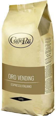 Кофе Caffe Poli Oro Vending в зернах 1000 г