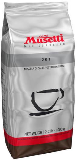 Кофе Musetti Caffe 201 в зернах 1000 г