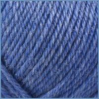 Пряжа Valencia Denim 100г/280м 737 темно-блакитний