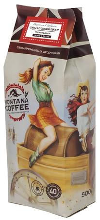 Кофе Montana Coffee Французский Ликер в зернах 500 г