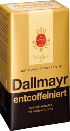 Кофе Dallmayr Entcoffeiniert молотый 500 г