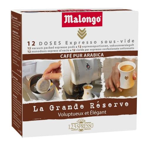 Кофе Malongo Grande Reserve в монодозах - 12 шт
