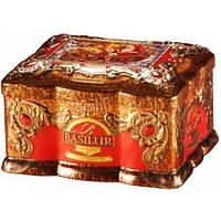 Черный чай Basilur Красный топаз ж/б 100 г