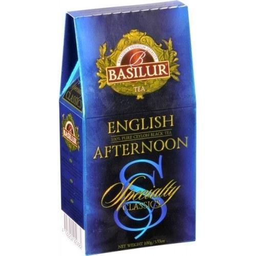 Черный чай Basilur Дневное чаепитие картон 100 г