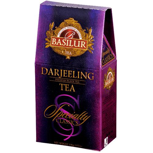 Черный чай Basilur Дарджилинг картон 100 г