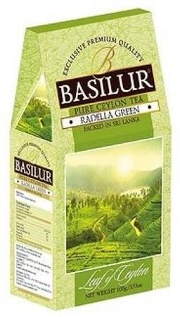 Зеленый чай Basilur Раделла картон 100 г