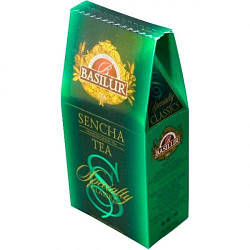 Зеленый чай Сенча Basilur картон 100 г
