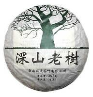 Шен Пуэр Горные деревья Юннаня Блин 2013г 357 г