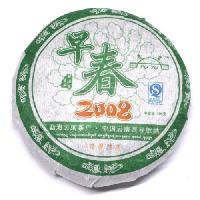 Шен Пуэр Цзао Чунь Юнь Хе Блин 2008г 100 г