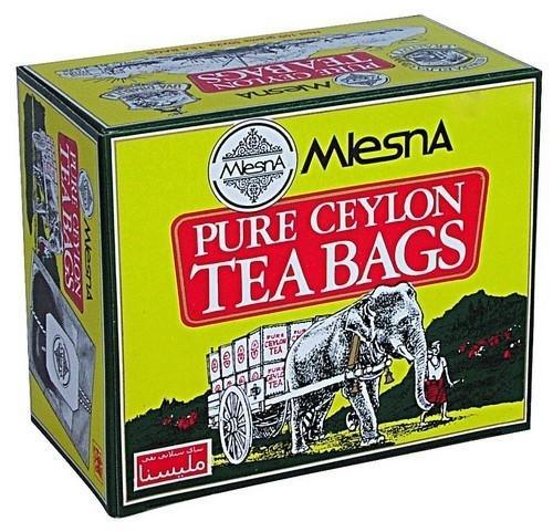 Черный чай Слон в пакетиках Млесна картон 50 г