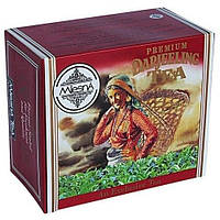 Черный чай Дарджилинг в пакетиках Млесна картон 200 г