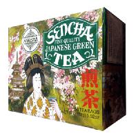 Зеленый чай Сенча в пакетиках Млесна картон 200 г