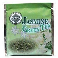 Зеленый чай Жасмин в пакетиках Млесна картон 200 г