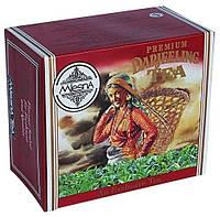 Черный чай Дарджилинг TGFOP1 в пакетиках Млесна картон 400 г