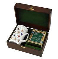 Черный чай Сент Клер чашка в шкатулке Млесна д/к 150