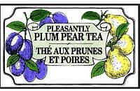 Черный чай Слива-груша Млесна пак. из фольги 100 г