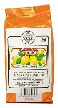 Черный чай Лимон Млесна пак. из фольги 100 г