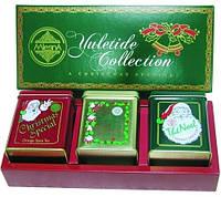 Набор черного чая Праздничная коллекция из 3х видов Млесна ж/б 300 г