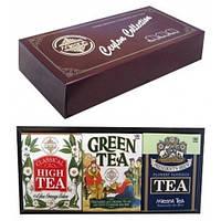 Набор черного и зеленого чая Цейлонская коллекция 3 вида чая картон 300 г