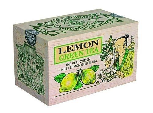 Зеленый чай Лимон Млесна д/к 100 г