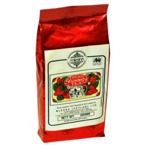 Зеленый чай Клубника со сливками Млесна пак. из фольги 100 г