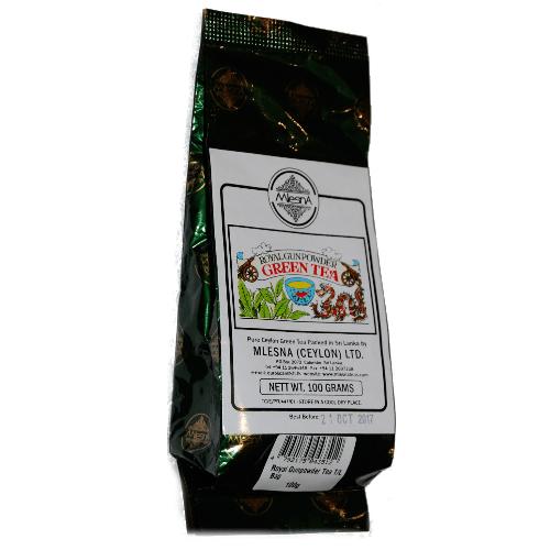 Зеленый чай Королевский пушечный порох Млесна пак. из фольги 100 г