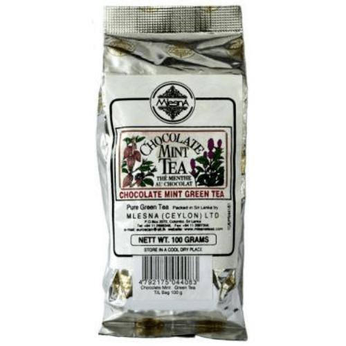 Зеленый чай Мятно-шоколадный Млесна пак. из фольги 100 г